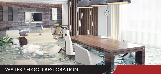 Water and Flood Damage Restoration in Evansville and Newburgh, IN